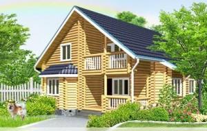 дом из дерева, домашний уют