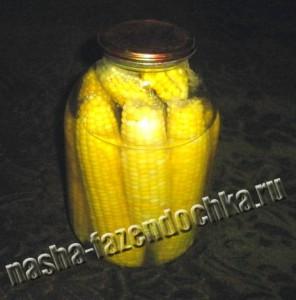 кукуруза сахарная, маринованная