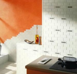 Немецкая плитка Senso в кухонном интерьере