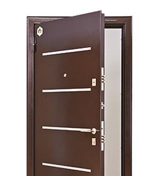 Стальная дверь для загородного дома
