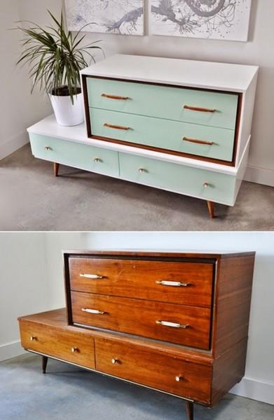 Декор старой мебели своими руками – технология декора мебели
